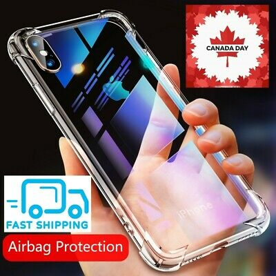 Airbag Case For iPhone 11 Pro XS Max XR X 8 7 6 Plus 360 Luxury Clear Cover Case