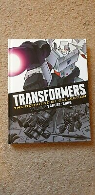 New Transformers The Definitive G1 Collection Issue 1 Volume 6 Target 2006 Comic