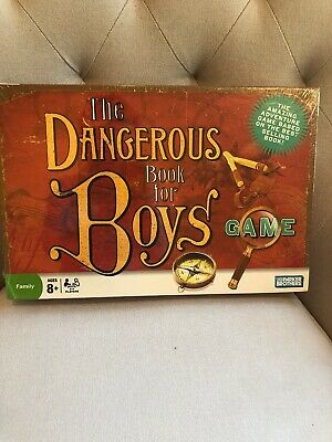 The Dangerous Book For Boys Board Game Parker Brothers 2006 NEW SEALED