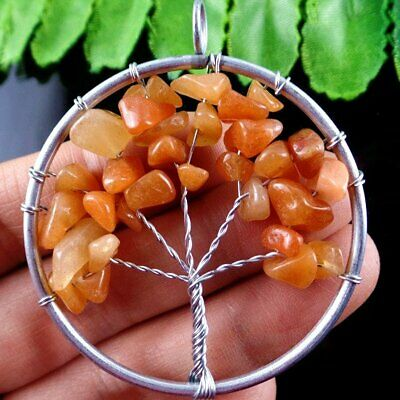 D1026 The Tree Of The Life Pendant Bead 50*7mm