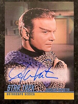 Star Trek TOS 40th William Shatner A150 Autograph Card