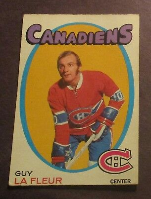 1971-1972 OPC #148 Guy Lafleur ROOKIE Montreal Canadiens