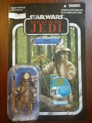 """LOGRAY Star Wars Return of the Jedi Vintage 3 3//4/"""" Figure Unpunched #VC55 2011"""