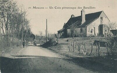 CPA - France - (03) Allier - Moulins - Un coin pittoresque des Bataillots