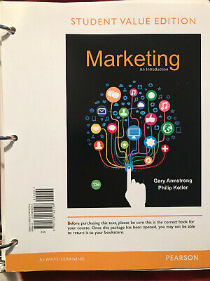 Pearson Marketing: An Introduction, Student Value Edition (13th Edition)