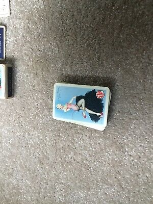 Vintage 1950's Waddingtons Playing Cards SLB Portrait Of A Show Girl