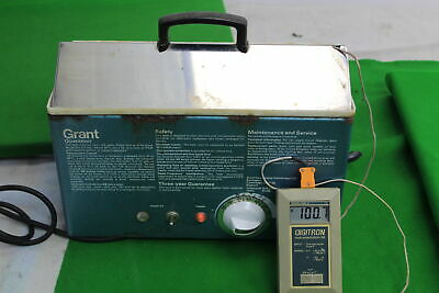 Grant Water Bath With Lid 100C Heating Lab Laboratory