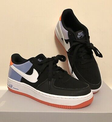 sports shoes d9021 3bfca Nike Air Force 1 (GS) Size 6 - Black,White,Twighlight and