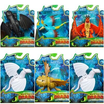 Dreamworks How To Train Your Dragon Hidden World Basic Action Figures Light Fury