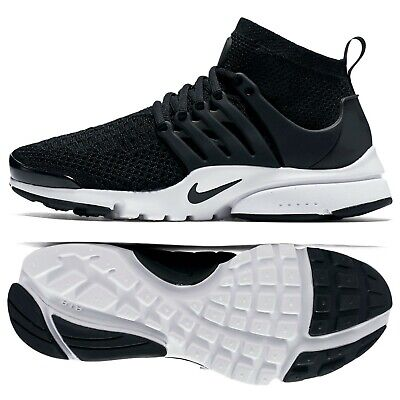 newest d9220 50c6a Nike W Air Presto Ultra Flyknit Black Black White 835738-001 Women s Shoes