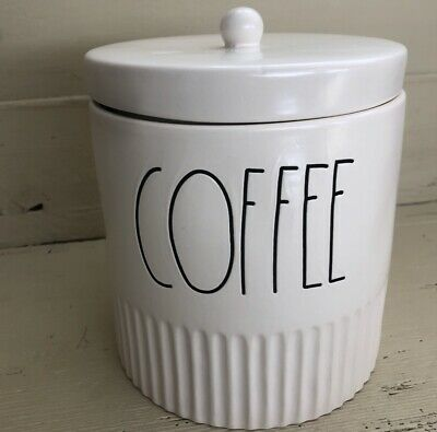 """Rae Dunn New Style Canister """"COFFEE"""" New! HTF! *Always LOW Shipping!* ☕️"""