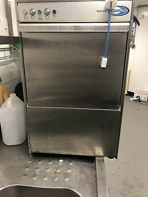 Classeq Duo 400 Glass Washer / Glasswasher