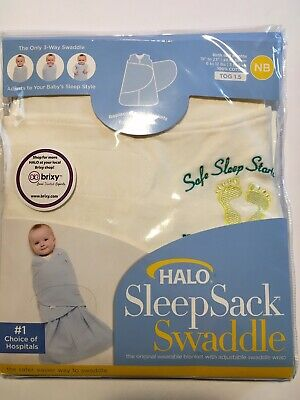 finest selection 9c6cb 007d1 HALO SLEEP SACK Swaddle Small Newborn Nb To 3 Months New In Package 6-12  lbs.