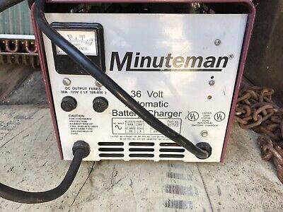 Minuteman 36 Volt Automatic Battery Charger
