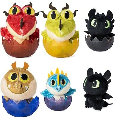 Dreamworks How To Train Your Dragon Hidden World Soft Egg Plush 3""
