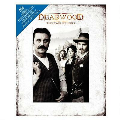 Deadwood - The Complete Series (Blu-ray Disc, 2013, 13-Disc Set)