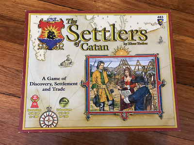 Settlers of Catan Board Game - Older 2000 Version