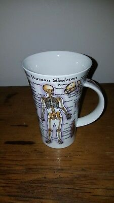 DUNOON THE HUMAN BODY MUG by Jane Goodwin