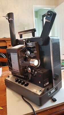 Vintage  Bell &  Howell 644 TQ1 16mm projector with case and cover