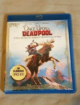 Once Upon A Deadpool Blu-ray and DVD No Digital Code