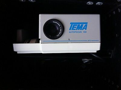 TEMA German Slide projector with orginal Carry case