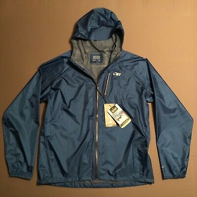 Brand New Mens Outdoor Research Helium 2 Jacket XL Cobalt Naval Blue 9a46120ad8b