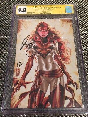 Phoenix Resurrection: Return of Jean Grey Variant D CGC SS 9.8 Brooks, Rosenberg