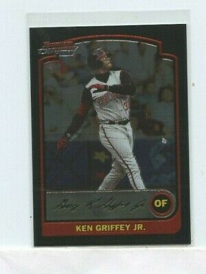 1e40ee8117 2003 BOWMAN CHROME #8 Ken Griffey Jr Cincinnati Reds Jr. Baseball ...