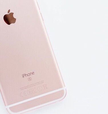 Apple iPhone 6s - 128GB - Rose Gold -(Unlocked) - Excellent Condition