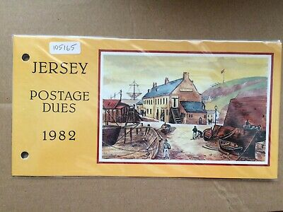 Jersey 1982 Postage Dues Presentation Pack (105165)