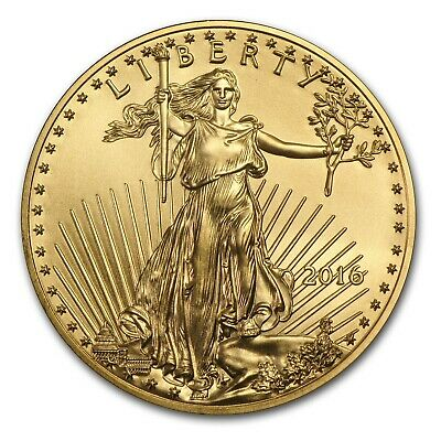 2016 American Gold Eagle coin 1/4 oz Uncirculated FREE SHIPPING