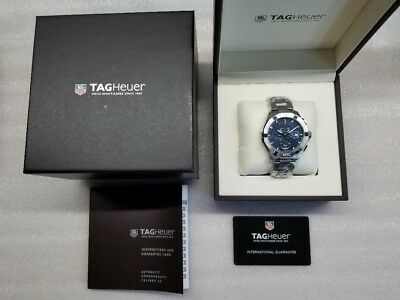 30a83f370b8 Tag Heuer Aquaracer Automatic Blue Dial Men s Watch Cay2112.ba0927 Pre-Owned