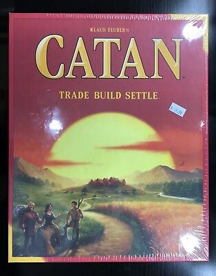 Catan Board Game Trade Build Settle Fifth 5th Edition Core Base Strategy (NEW)