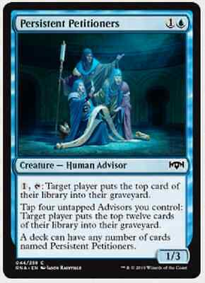 4x Persistent Petitioners - Ravnica Allegiance Magic the Gathering MTG MINT CARD