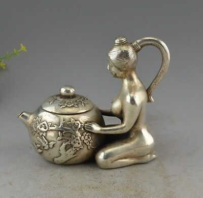 Copper silver decoration decoration Home Furnishing Fairy teapot