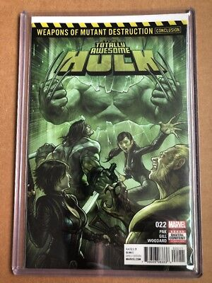 Totally Awesome Hulk #22 (2017) 1st Print Cover A 1st App Weapon H Toploader