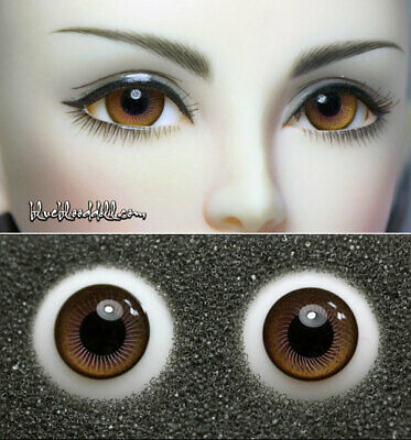 14mm brown color high quality glass bjd doll eyes dollfie iplehouse M-46 ShipUS