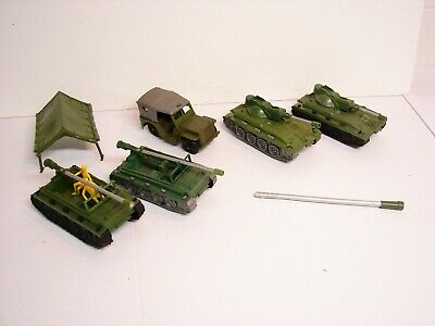 MPC Battle Front Playset, 2 Weasels, 1 Jeep, 2 Tanks, 1 Tent,  1:32 Scale
