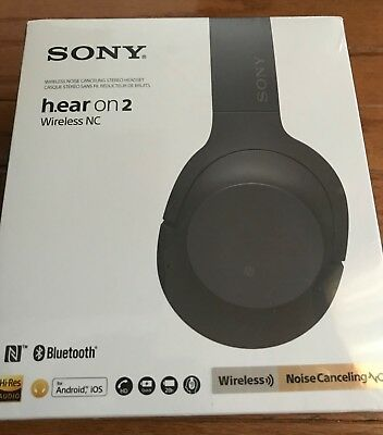 New Sony WH-H900N h.ear on 2 Wireless Bluetooth Noise-Cancelling Headphones