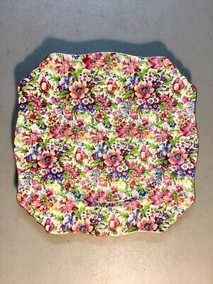 """Vintage ROYAL WINTON Grimwades """"Sunshine"""" 9"""" Lunch Plate, Made in England"""