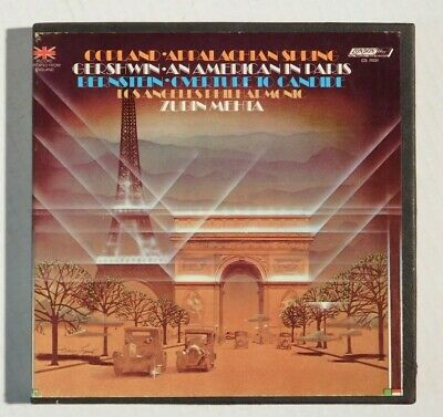 Overture To Candide American In Paris Appalachian Spring Reel Tape 4Tr 7.5Ips