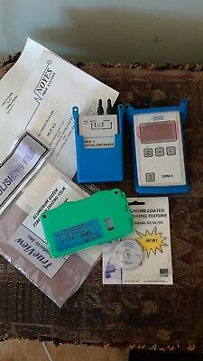 Noyes Fiber Optic Loss Testing Kit.. OLS4 ST optical light..OPM4 2-C power meter