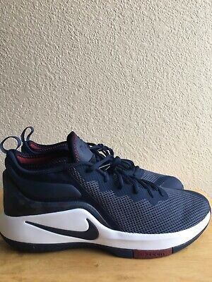 check out 0d998 8e175 Nike Air Zoom Witness II 942518-406 Mens Size 12 Navy Blue Lebron Soldier  NoBox