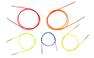 Knitpro Interchangeable Knitting Needle Cable - Choose Your Size (40cm - 150cm)