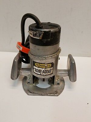 Vintage STANLEY ROUT-ABOUT Router No. 80265 Laminate Trimmer Router 25,000 rpm