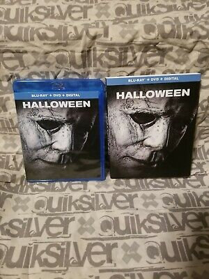 Halloween (2018) Blu-ray, DVD,with Slipcover