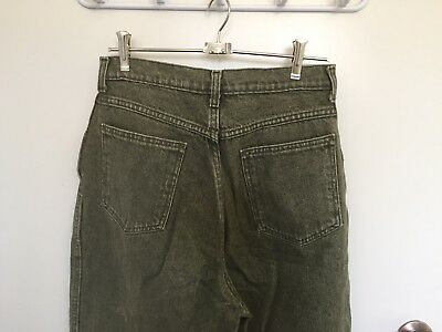 Vintage Green High Waisted Jeans