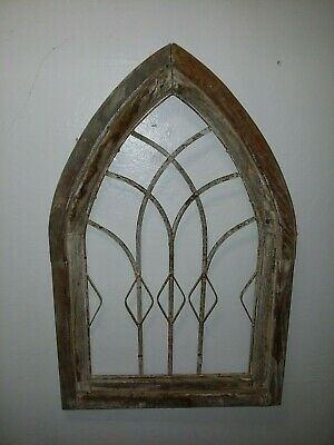 Antique church window steeple vintage shabby chic Architectural Salvage