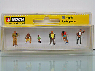 Noch 45561 Tt Figurines 1:120 - Pinkelpause - Neuf Emballage D'Origine