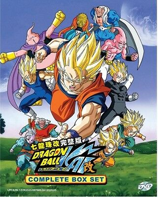 Anime DVD Dragon Ball Kai Complete (Vol.1-167 End) ENGLISH DUBBED + Free Gift